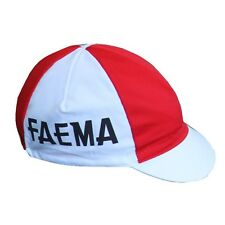 FAEMA RETRO CICLISMO CAPPELLINO DEL TEAM - Vintage - Made in Italy (Eddy Merckx)