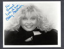 Sally Struthers Signed 8x10 B/W Photo Personalized Auto Broadway & TV Star
