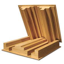 Auralex Sustain QuadraTec Bamboo Wood Studio Sound Diffusors - SET OF 2