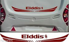 ELDDIS CARAVAN/MOTORHOME 2 PIECE KIT DECALS STICKER CHOICE OF COLOUR & SIZE #2
