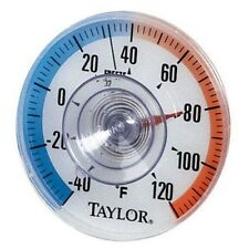 Taylor 5321 OUTDOOR Stick-On Dial Thermometer  NEW!!