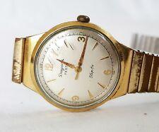 Armbanduhr Herren DUGENA Festa Slip-fix vintage Handaufzug 1950er J.