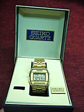 VINTAGE SEIKO A904 DIGITAL QUARTZ WRISTWATCH - WORKING - FREE SHIPPING