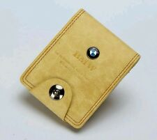 Men's Cream Bi-Fold BMW wallet. NEW.