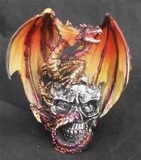 Nemesis Now A DRAGON DRIGAZ COLOUR SKULL Gothic Skulls Figurine