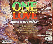 "ONE LOVE ~ ""TRIBUTE to BOB MARLEY""~ RARE PROMO CD -- I Shot the Sheriff +"