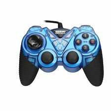 Blue USB PC COMPUTER Online GAME PAD CONTROLLER FOR WIN 9X/2000/XP/VISTA Popular