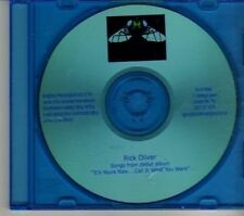 (DR430B) Rick Oliver, Songs From Debut Album - DJ CD