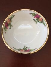 Royal Albert Old Country Roses Fine Bone China Sponged Gold Trim Rice Bowl