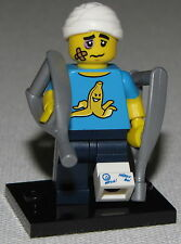 LEGO NEW SERIES 15 CLUMSY GUY 71011 MINIFIGURE WITH CRUTCHES HURT FIGURE