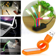 Cute Flexible USB LED Light Mini Lamp For Computer Notebook Laptop PC Power Bank