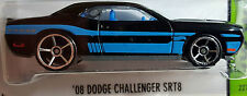 Hot Wheels 2013 HW Workshop '08 Dodge Challenger SRT8 Black KMart Exclusive 1:64