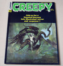 Creepy issue 16  1967.  VG/FN   Frazetta cover. Warren Magazines.
