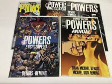 POWERS #1 SET (IMAGE/ICON/BENDIS/OEMING/PLAYSTATION TV/1115103) SET LOT OF 5