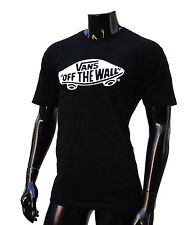 Vans Skateboard OTW Black Slim Fit Atletic Mens T shirt Size Large