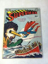 SUPERMAN #20 SIEGEL, SHUSTER, 1942, DC, CLARK KENT REALLY SUPERMAN?