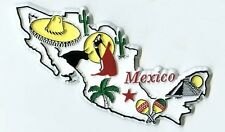 Mexico 5 Color United States Fridge Magnet