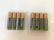 (Pack of 8) Duracell AAA NiMH 800mah 1.2V Stay Charged Rechargable Batteries