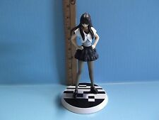 "Masked Rider Den-O 7""in Figure Long Brown Hair White Top Black Skirt and Shoes"