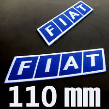 1 X FIAT Advertising Patch Embroidered Embroidery Emblem Logo automobile car