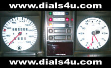 VOLKSWAGEN VW TRANSPORTER T3 / T25 Type 2 (1979-1990) - 180km/h - WHITE DIAL KIT