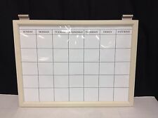 Pottery Barn Daily System Magnetic Whiteboard Calendar Office Dry Erase Wall