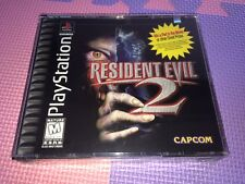 RESIDENT EVIL 2 biohazard BRAND NEW SEALED PS1 PS PLAYSTATION US USA IN FRANCE