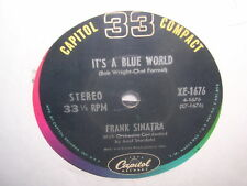 Frank Sinatra It's a Blue World and These Foolish Things (Remind Me of You)