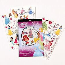 DISNEY Princess Over 50 Temporary Princesses Tattoos AGES 3+ NEW