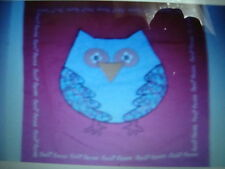 PINK TWIT TWOO OWL CUSHION COVER