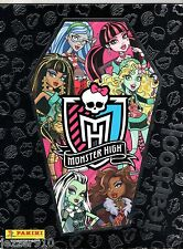 ALBUM PANINI ¤ MONSTER HIGH ¤ AVEC 19 VIGNETTES COLLEES SUR 192