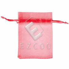 25/50/100/200pcs Organza Wedding Favour Party Xmas Gift Bags Candy Pouch 9x12cm