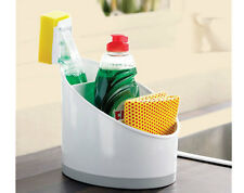 Kitchen Sink Tidy Cleaning Utensils Washing Up Sponge Storage Space Saving