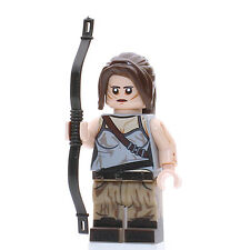 Custom Print Design LEGO Minifigure - Lara Croft