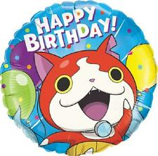 Set of 2 Yo-Kai Watch Jibanyan Happy Birthday Balloons PARTY Nintendo  FREE SHIP