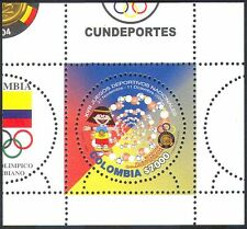 Colombia 2004 National Games/Sports/Football/Basketball/Animation 1v m/s n42375