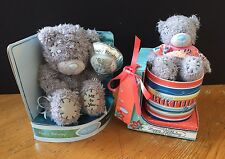2 x ME TO YOU BEARS Happy Birthday MUG Balloon BOXED Tatty Teddy LOT Bundle