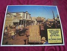 1973 OKLAHOMA CRUDE MOVIE LOBBY CARD#8 GEORGE C SCOTT FAYE DUNAWAY Western Drama