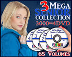 MS3 Mega Senior Digital Backgrounds Backdrops Templates Photography Holiday Prop