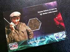 Dr Who  Costume Card -RELIC CARD  UNIT Uniform As Worn By John Levene , Prop