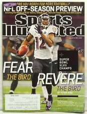 SPORTS ILLUSTRATED MAGAZINE SUPER BOWL CHAMPIONS BALTIMORE RAVENS JACOBY JO