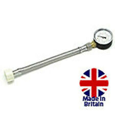 MONUMENT ¾ in. BSP MAINS WATER PRESSURE TEST GAUGE 11BAR MON1510
