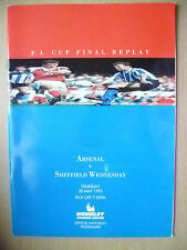1993 FA CUP FINAL REPLAY-  ARSENAL v SHEFFIELD WEDNESDAY (Exc*, Org)