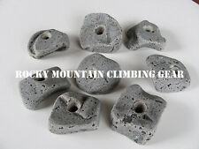10 KIDS BOLT ON ROCK CLIMBING HOLDS WITH HARDWARE