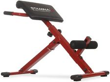 Stamina X Ab Exercise Hyper Bench Strength Training Abdominal Toning 20-2015 NEW