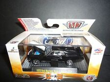 M2 Ford Mustang Mach 1 351 1970 Black 1/64