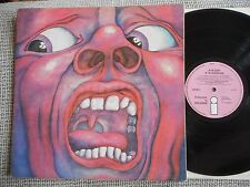 KING CRIMSON In The Court Of The Crimson King UK pink  ISLAND LP 1969 rare