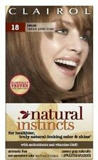 Clairol Natural Instincts #18 Pecan (Medium Golden Brown), 1 each