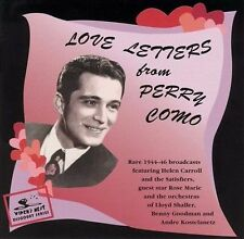 Como, Perry-Love Letters From Perry Como: 1944-46 CD NEW