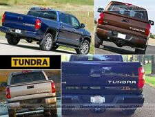 TOYOTA TUNDRA 14 15 16 CHROME TAILGATE LETTERS NOT DECALS 2014 2015 2016 INSERTS